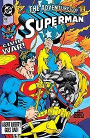 Adventures of Superman (1986-2006) #492