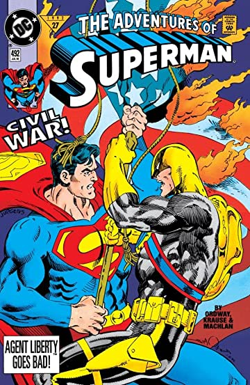 Adventures of Superman (1986-2006) #492