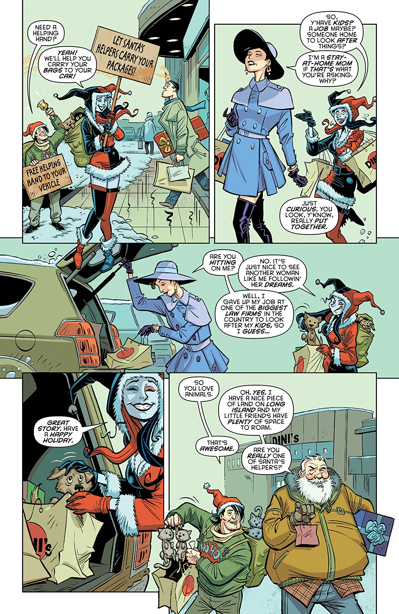 Harley Quinn (2013-2016) #1: Holiday Special