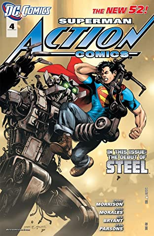 Action Comics (2011-2016) No.4