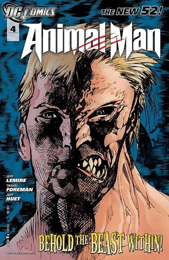 Animal Man (2011-2014) #4