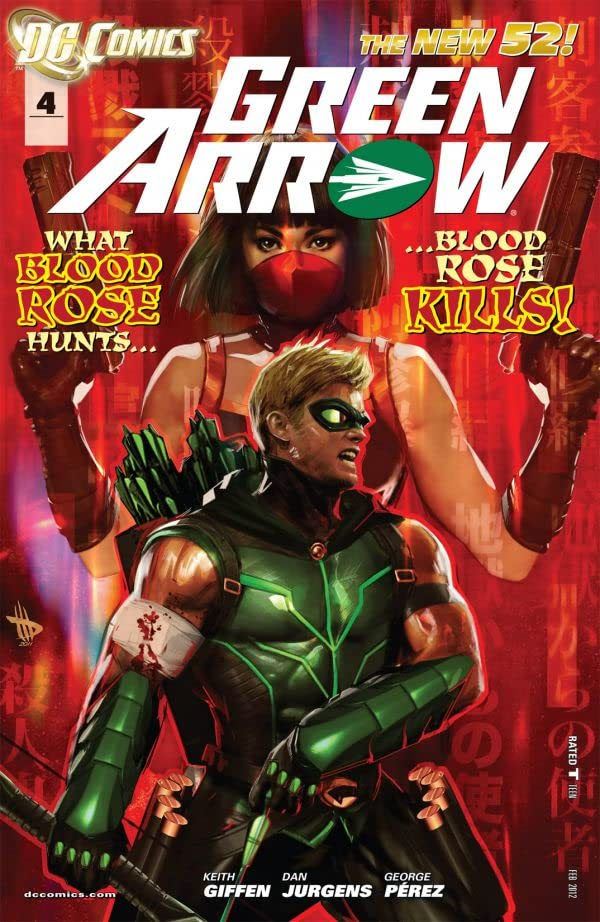 Green Arrow (2011-) #4