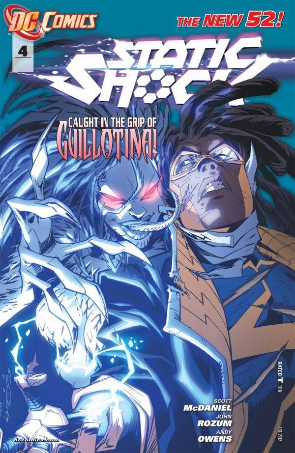 Static Shock (2011-2012) #4