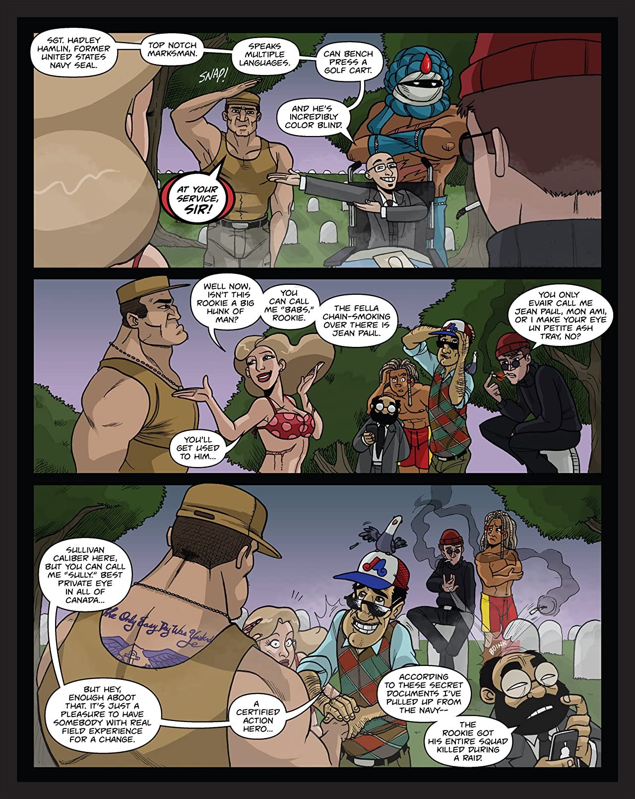 B-Squad: Soldiers of Misfortune #1