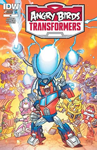Angry Birds/Transformers #2 (of 4)