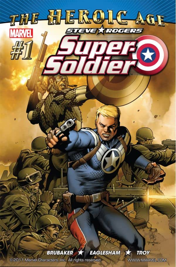 Steve Rogers: Super-Soldier (2010) #1 (of 4)