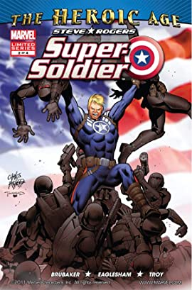 Steve Rogers: Super-Soldier (2010) #2 (of 4)