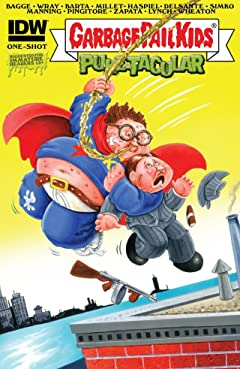 Garbage Pail Kids #1: Comic Book Puke-tacular