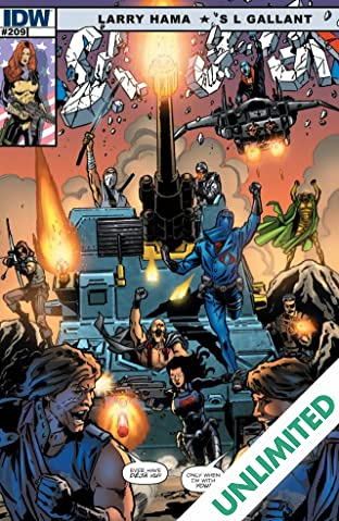 G.I. Joe: A Real American Hero #209