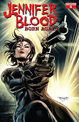 Jennifer Blood: Born Again #5 (of 5): Digital Exclusive Edition