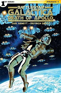 Battlestar Galactica: Death of Apollo #1 (of 6): Digital Exclusive Edition