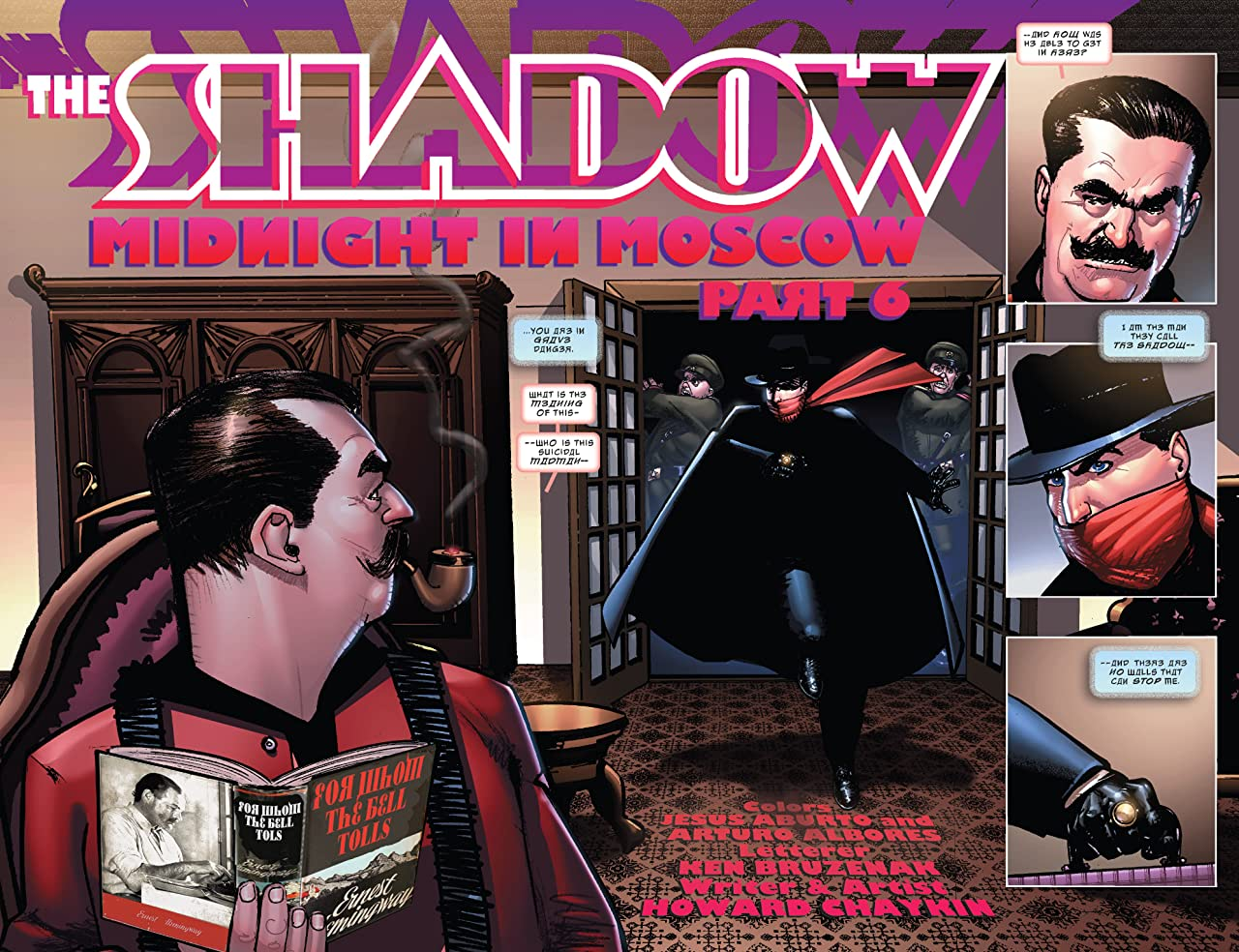 The Shadow: Midnight in Moscow #6 (of 6): Digital Exclusive Edition