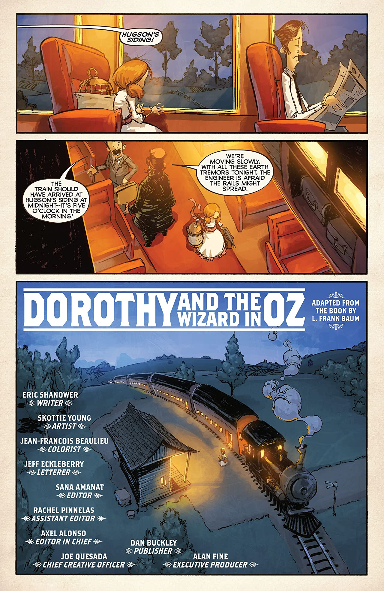 Dorothy and the Wizard In Oz #1 (of 8)