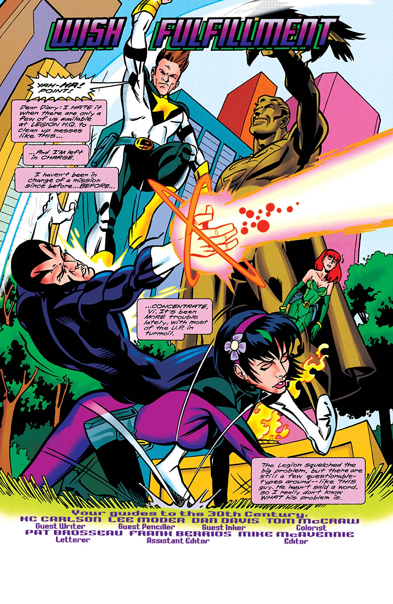 Legion of Super-Heroes (1989-2000) #109