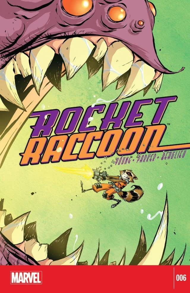 Rocket Raccoon (2014-2015) #6