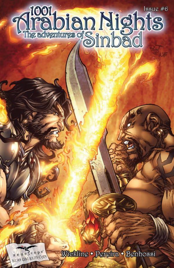 1001 Arabian Nights: The Adventures of Sinbad #6