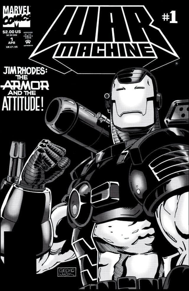 War Machine (1994-1996) #1
