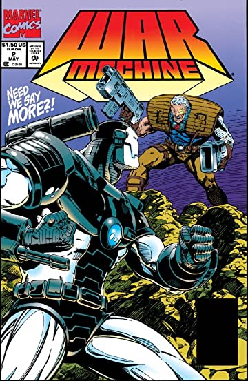 War Machine (1994-1996) #2