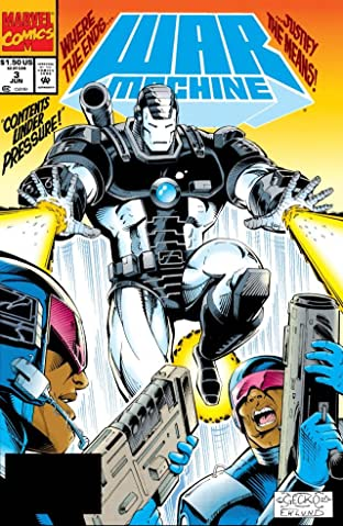 War Machine (1994-1996) #3