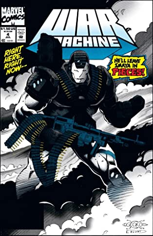 War Machine (1994-1996) #4