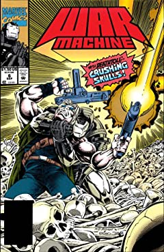 War Machine (1994-1996) #6