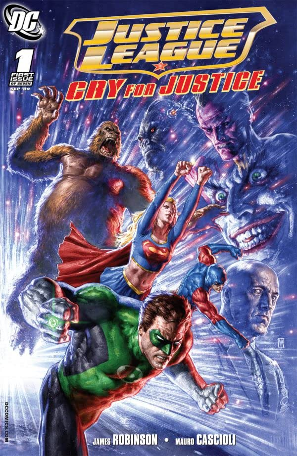 Justice League: Cry For Justice #1 (of 7)