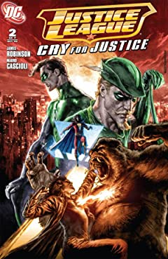 Justice League: Cry For Justice #2 (of 7)