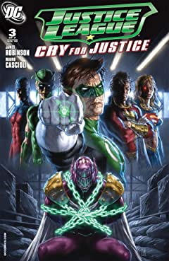 Justice League: Cry For Justice #3 (of 7)