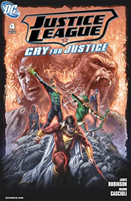 Justice League: Cry For Justice #4 (of 7)