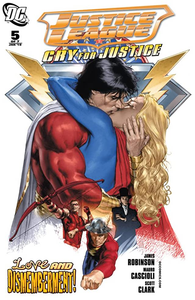 Justice League: Cry For Justice #5