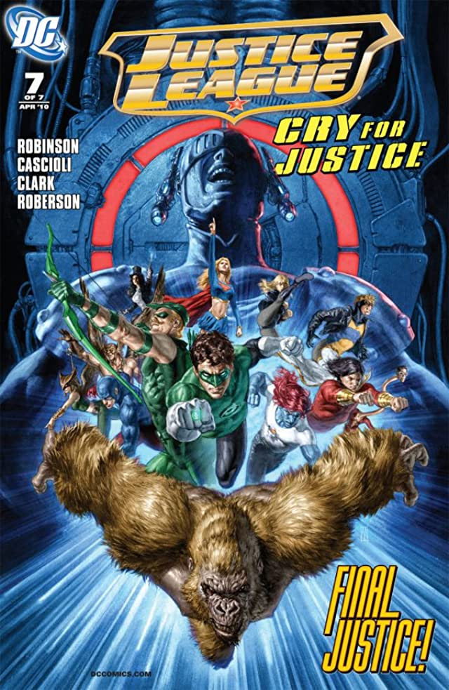 Justice League: Cry For Justice #7