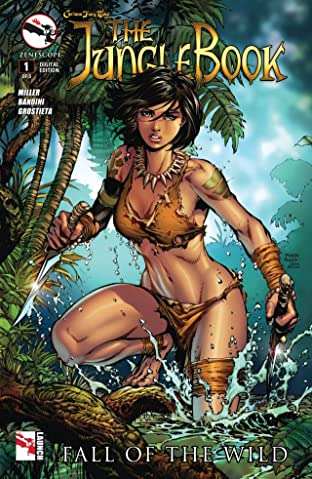 The Jungle Book: Fall of the Wild No.1 (sur 5)