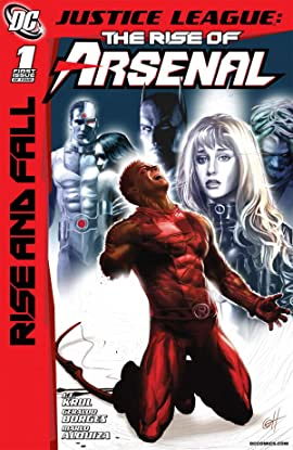 Justice League: The Rise of Arsenal No.1 (sur 4)