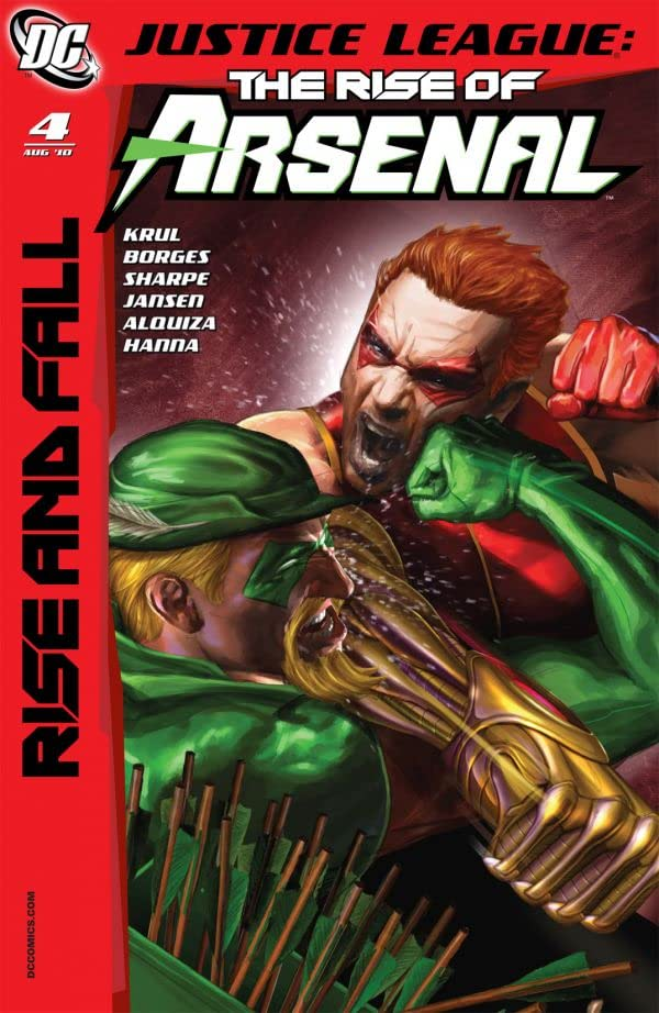 Justice League: The Rise of Arsenal #4 (of 4)