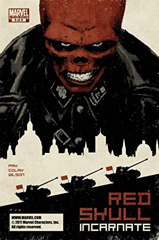 Red Skull No.5 (sur 5)