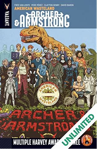 Archer & Armstrong Vol. 6: American Wasteland