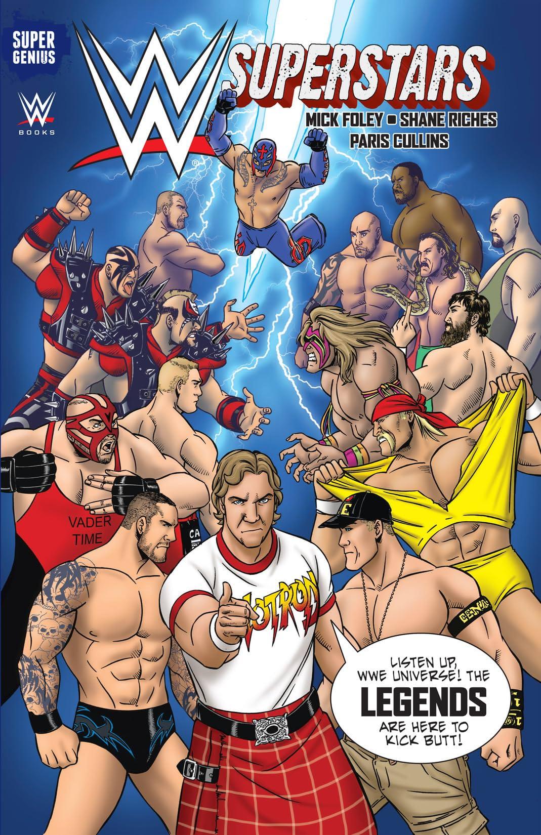 WWE Superstars Vol. 3: Legends