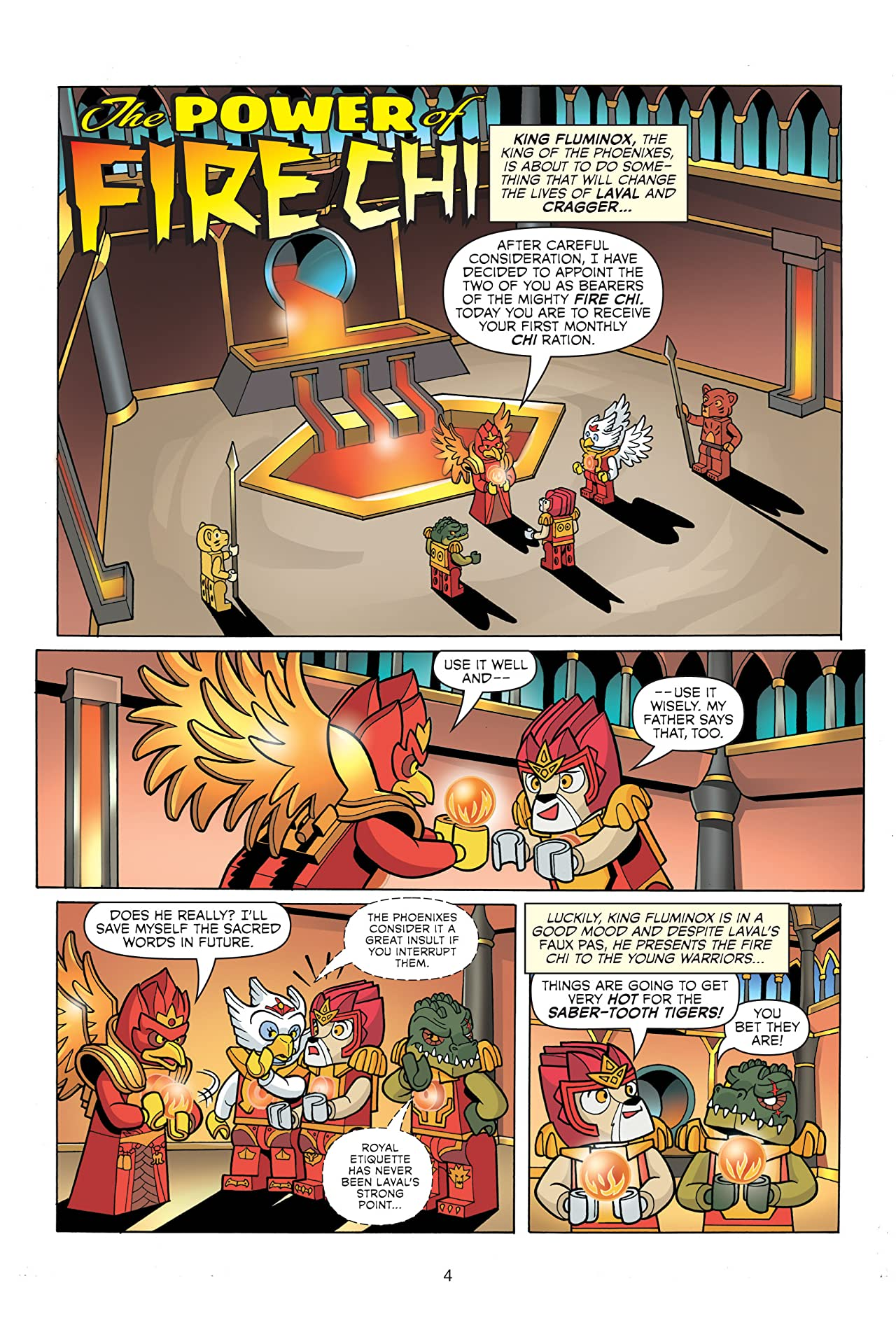 LEGO Legends of Chima Vol. 4: The Power of Fire Chi