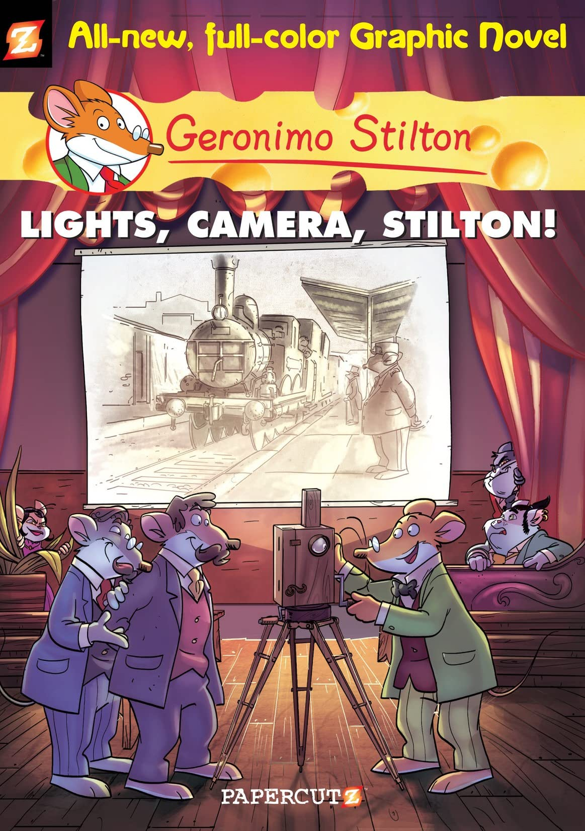 Geronimo Stilton Vol. 16: Lights, Camera, Stilton!