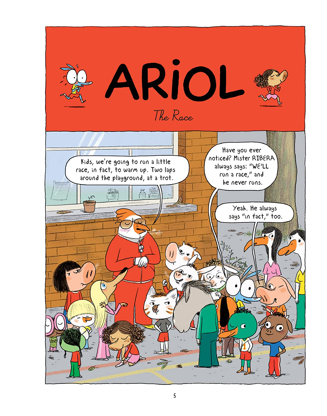 Ariol Vol. 6: A Nasty Cat
