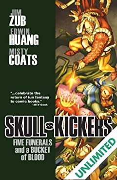 Skullkickers Vol. 2: Five Funerals & A Bucket of Blood