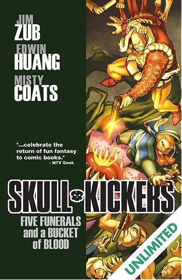 Skullkickers Vol. 2: Five Funerals & A Bucket of Blood