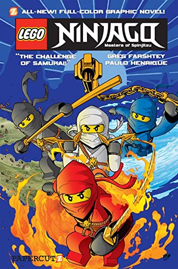 Ninjago Vol. 1: Challenge of Samukai Preview