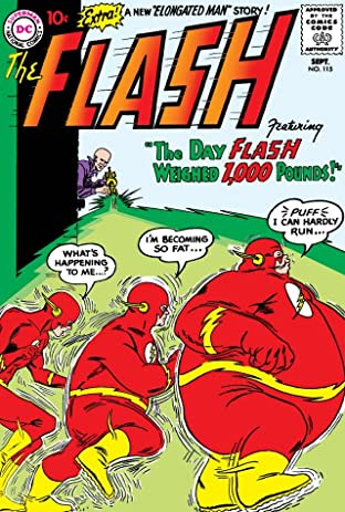 The Flash (1959-1985) #115