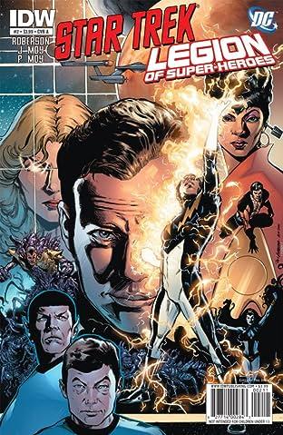 Star Trek/Legion of Super-Heroes #2 (of 6)