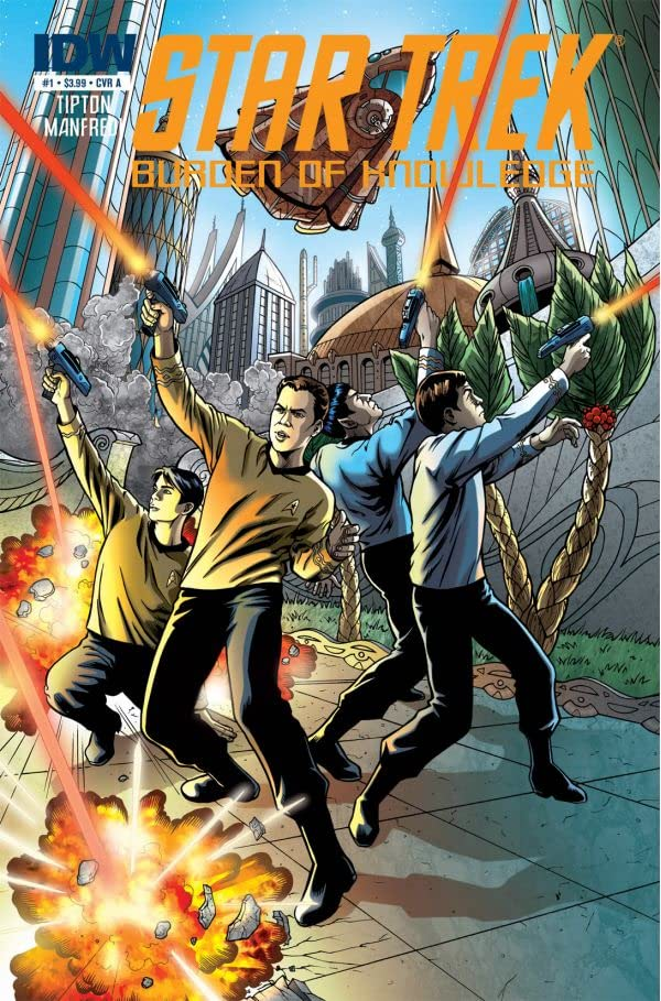 Star Trek: Burden of Knowledge #1