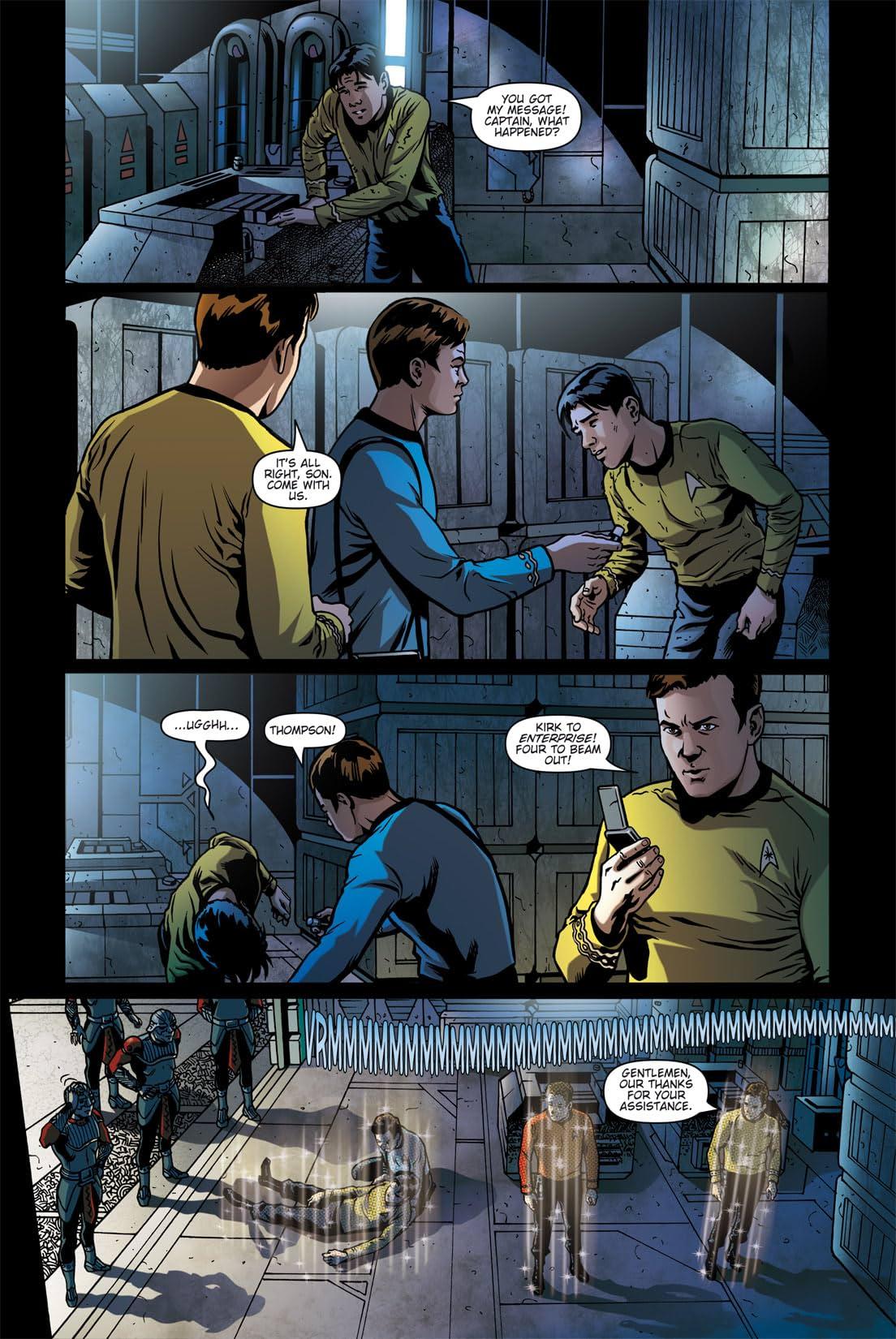 Star Trek: Burden of Knowledge #4
