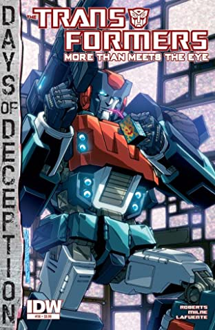 Transformers: More Than Meets the Eye (2011-) #36: Days of Deception