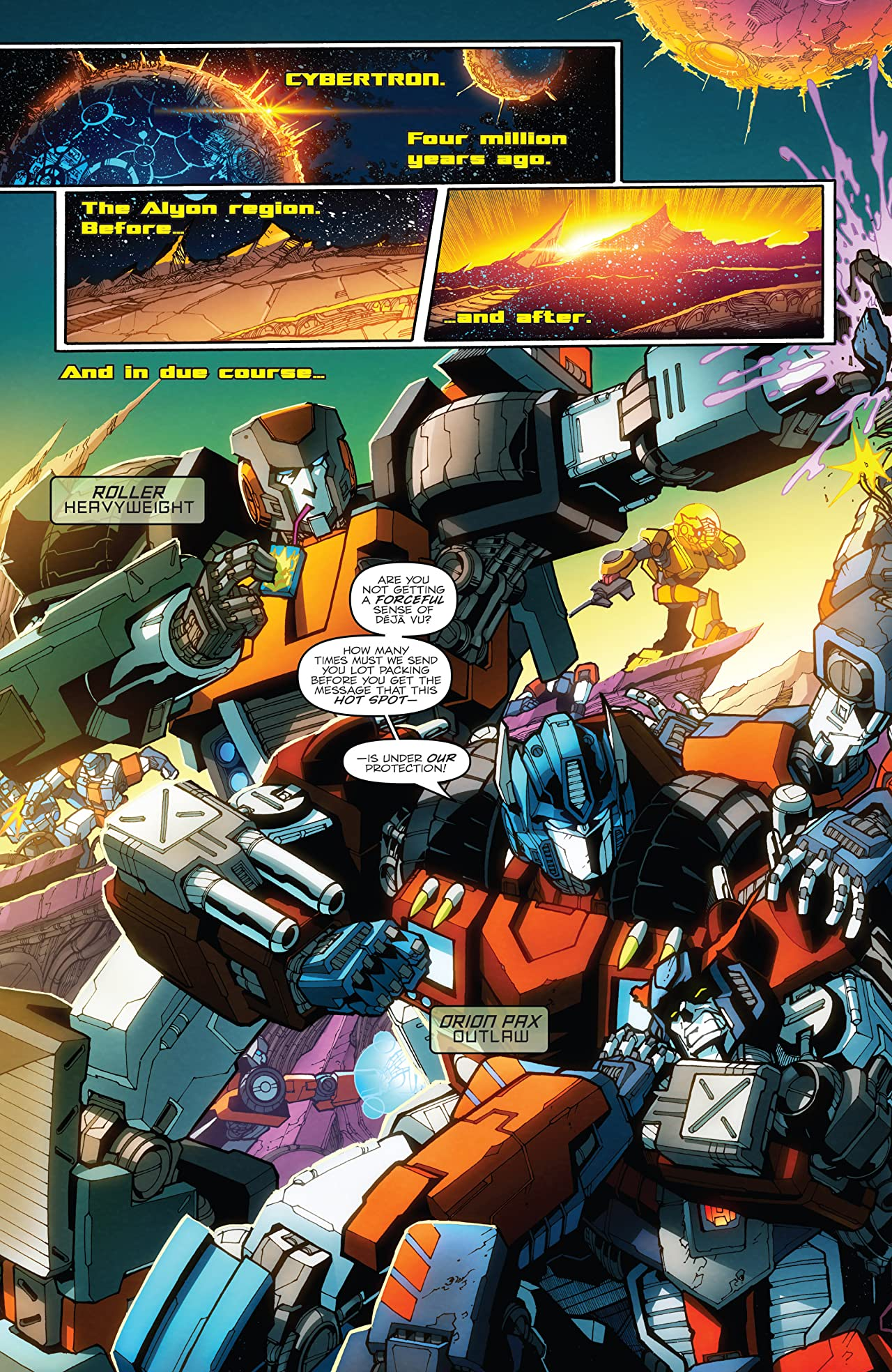 Transformers: More Than Meets the Eye (2011-2016) #36: Days of Deception