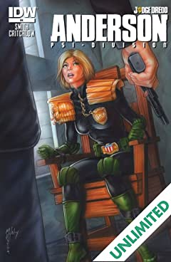 Judge Dredd: Anderson, Psi-Division #4